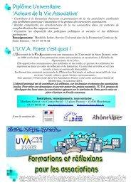 Acteurs de la Vie Associative - Loire Solidaires