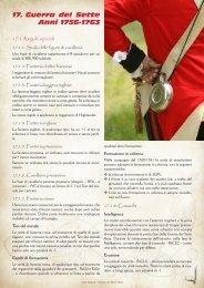 Guerra dei Sette 17. Anni 1756-1763 - A la guerre