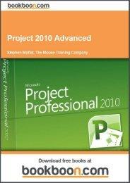 Project 2010 Advanced Language English Format - Tutorsindia