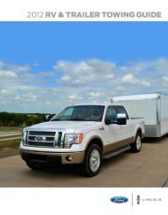 2012 RV & Trailer Towing Guide - Diehl Ford