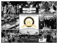 2013 District Calendar - Wantagh School