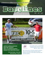 Newsletter - United States Professional Tennis Association