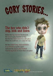 The boy who didn't stop, look and listen - nationalarchives.gov.uk