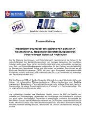 RBZ-Vorbereitungen auf Hochtouren - Theodor-Litt-Schule - Stadt ...
