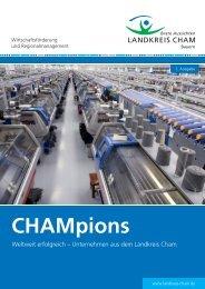 Leseprobe CHAMpions (PDF) - Mittelbayerische Medienfabrik