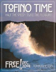 Tofino Time Magazine December 2004