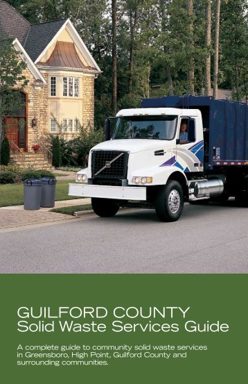 Guilford County Solid Waste Services Guide - Jamestown