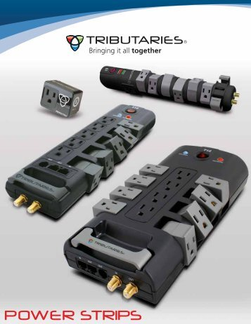 Power Strips Brochure - Tributaries Cable