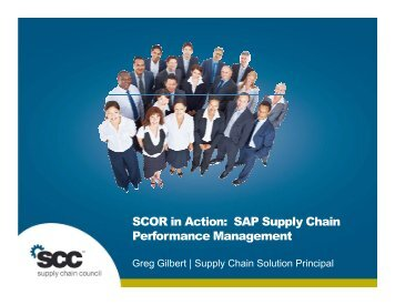 SCOR in Action: SAP Supply Chain Performance Management