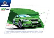 + A speciAl model bAsed on the bmW AlpinA b3 bi-turbo coupé ...
