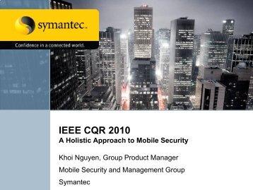 Khoi Nguyen - IEEE CQR