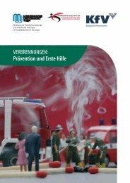 VERBRENNUNGEN: Prävention und Erste Hilfe - KfV