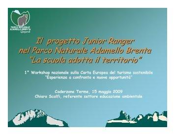 presentazione - Parco Naturale Adamello Brenta