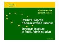 Marco Lopriore Senior Lecturer - Eurochambres Academy