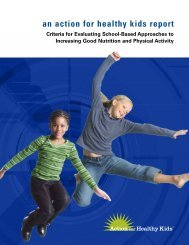 Criteria for evaluating school-based approaches to increasing