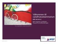 Välkommen till cykelfrukostseminarium - WSP Group