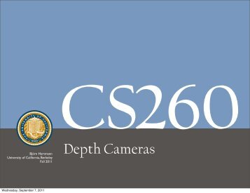 CS260 - University of California, Berkeley