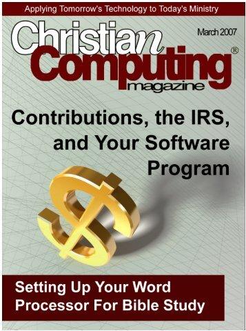 dows Hot Tips 3 - Christian Computing Magazine