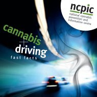 Fast Facts - National Cannabis Prevention and Information Centre ...