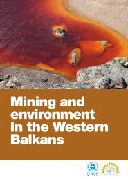 Mining and environment in the Western Balkans - UNEP Vienna ISCC
