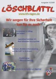 Info: Verkehrsamt - Kreisfeuerwehrverband Landkreis Regen