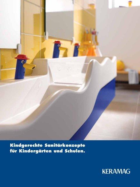 Kindgerechte Sanitärkonzepte für Kindergärten und ... - Keramag AG