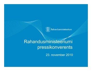 (23.nov 2010) (pdf) - euro.eesti.ee