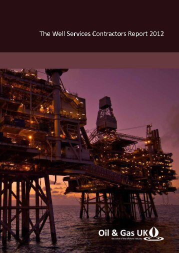 2012 Well Services Contractors Report - Oil & Gas UK