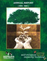 Deepalaya Annual Report 2004-2005 (10.9 MB)