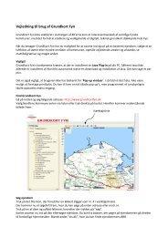 Vejledning til brug af Grundkort Fyn - Nordfyns Kommune