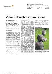 Zürcher Landzeitung - Bad Ragartz