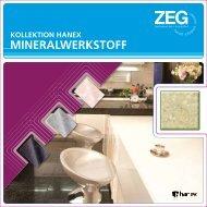 ZEG Mineralwerkstoff Kollektion Hanex 2011 - ZEG Zentraleinkauf ...