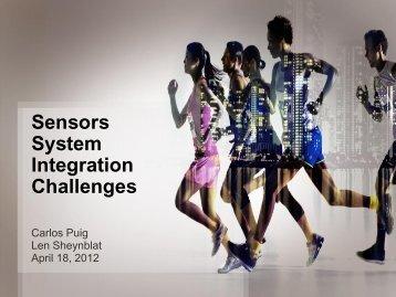 Sensors System Integration Challenges