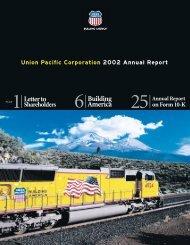 Union Pacific Corporation 2002 Annual Report