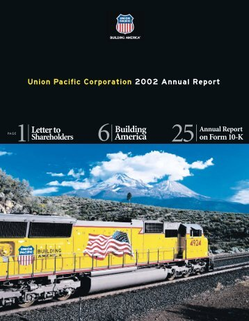Union Pacific Corporation 2002 Annual Report