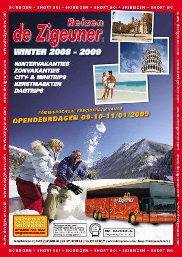WINTER 2008 - 2009 - De Zigeuner