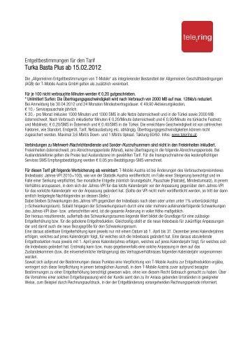 Turka Basta Plus ab 15.02.2012