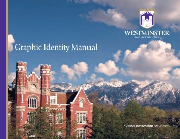 Graphic Identity Manual - Westminster College