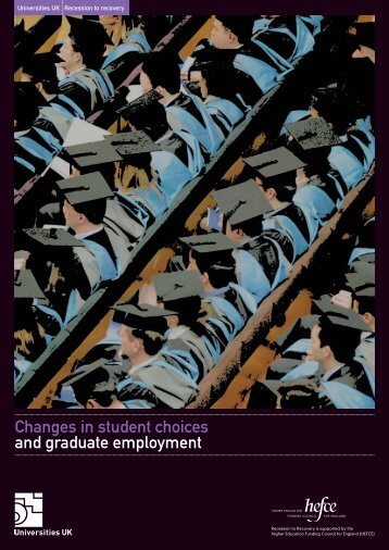 Changes in student choices and graduate ... - Universities UK