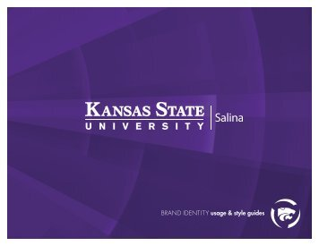 BRAND IDENTITY usage & style guides - Kansas State University ...