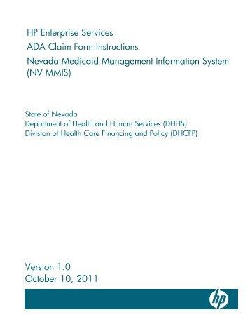 UB-04 Claim Form Instructions May 14, 2013 - Nevada Medicaid ...