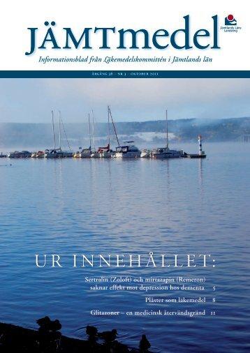 JämtMedel nr3 2011.pdf - Jämtlands läns landsting