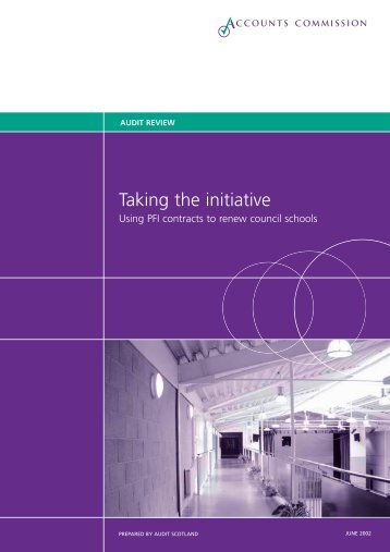 Taking the initiative - Audit Scotland