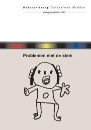 Problemen met de stem folder