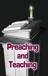 Preaching and Teaching - GlobalReach.org