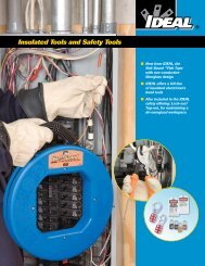 Insulated Safety Brochure from IDEAL Industries Inc. - NFMT