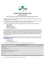 formulaire de demande d'aide assainissement - Agence de l'Eau ...