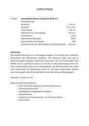 Technische Daten _ Lieferumfang - Zoll-Auktion