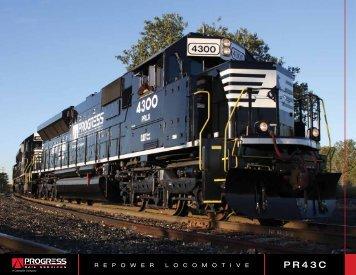 R E P O W E R L O C O M O T I V E - Progress Rail Services