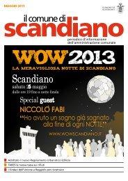 MAGGIO 2013 - Comune di Scandiano